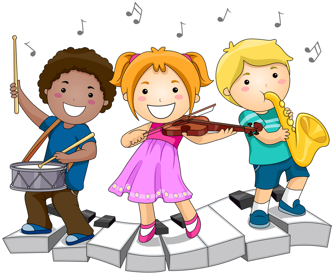 music children clipart playing development childhood class early clip musical muziek kinderen